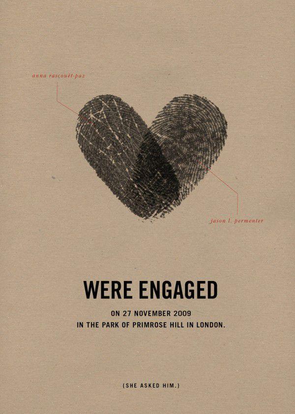 Vingerafdrukken in gastenboek, huwelijksbedankje of trouwringen! | ThePerfectWedding.nl