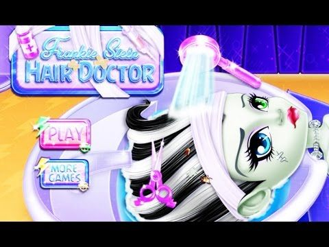 Monster High - Frankie Stein Hair Doctor - Game for kids - Doctor Games