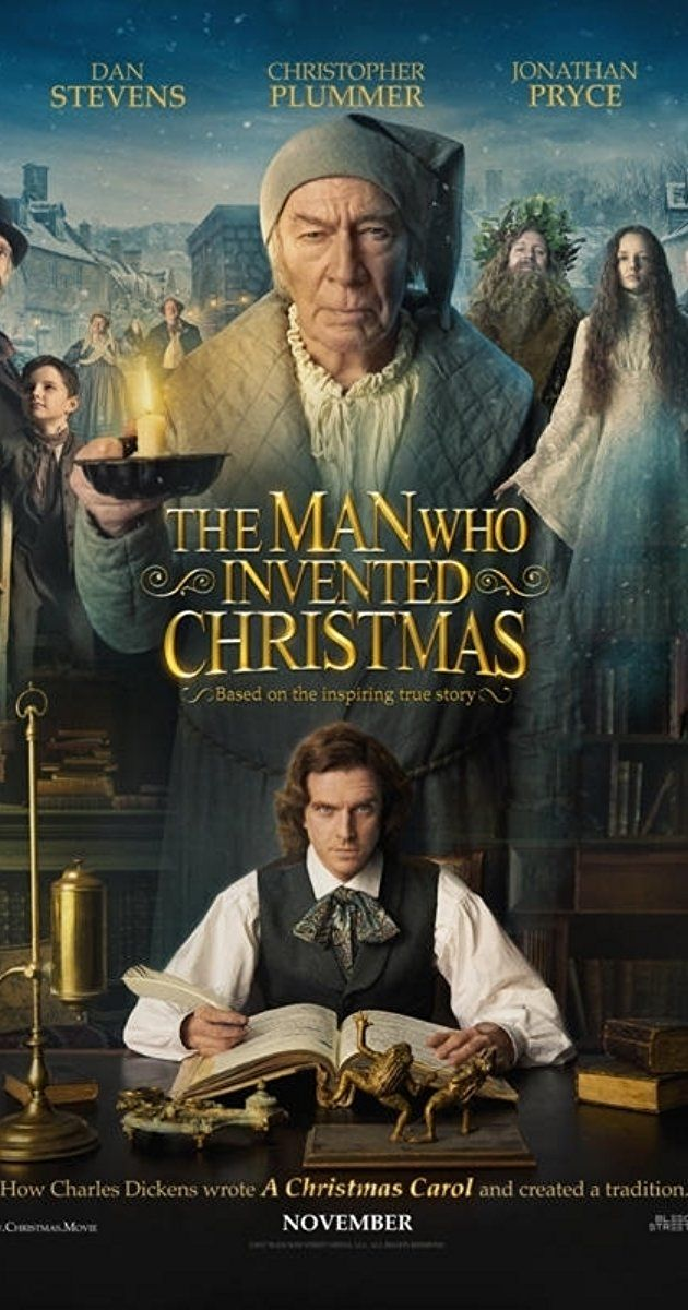 "Directed by Bharat Nalluri.  With Dan Stevens, Jonathan Pryce, Christopher Plummer, Simon Callow. The journey that led to the creation of Ebenezer Scrooge (Christopher Plummer) and other classic characters from ""A Christmas Carol."" The film shows how Charles Dickens (Dan Stevens) conjured up a timeless tale."