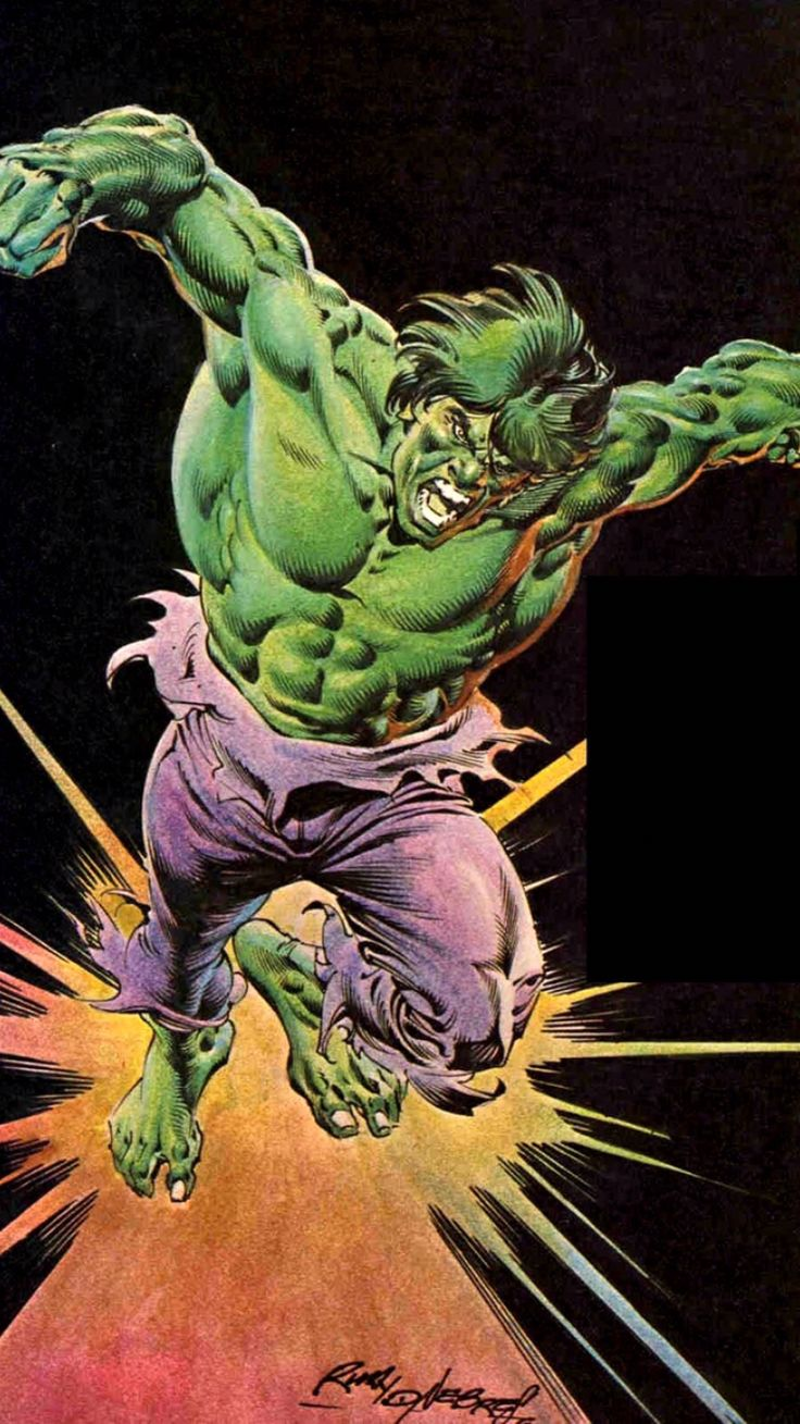 1979 - The Incredible Hulk by Rudy Nebres