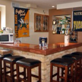 Stone Work And Bar Top