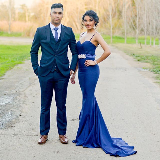 Matric Dance stunner in our Arianna Dress & Baci Embellished Belt #WhiteRunway #WhiteRunwaySouthAfrica #FormalDresses #EveningWear #MatricDanceDresses