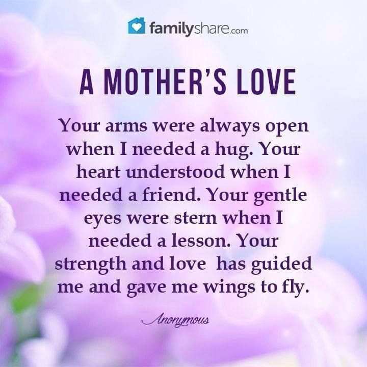 Mother's Love for her ...