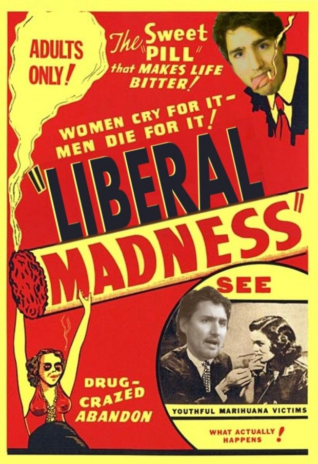 Justin Trudeau Liberal Party Of Canada Reefer-Madness