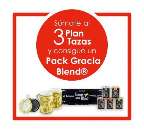 Súmate al Plan 3 tazas y consigue un Pack Gracia Blend®