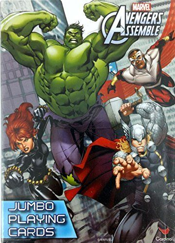 Marvel Comics The Avengers Assemble Jumbo Playing Cards With