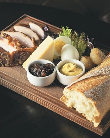 The Ploughman's Platter at Saloon
