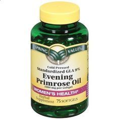 This is part of my everyday vitamin regime. Every woman should be taking Evening Primrose Oil. Great Anti-Aging supplement. Will see major improvement in skin tightening and preventing wrinkles. Helps with hormonal acne, PMS, weight control, chronic headaches, menopause, endometriosis, joint pain, diabetes, eczema, MS, infertility, hair, nails, and scalp.