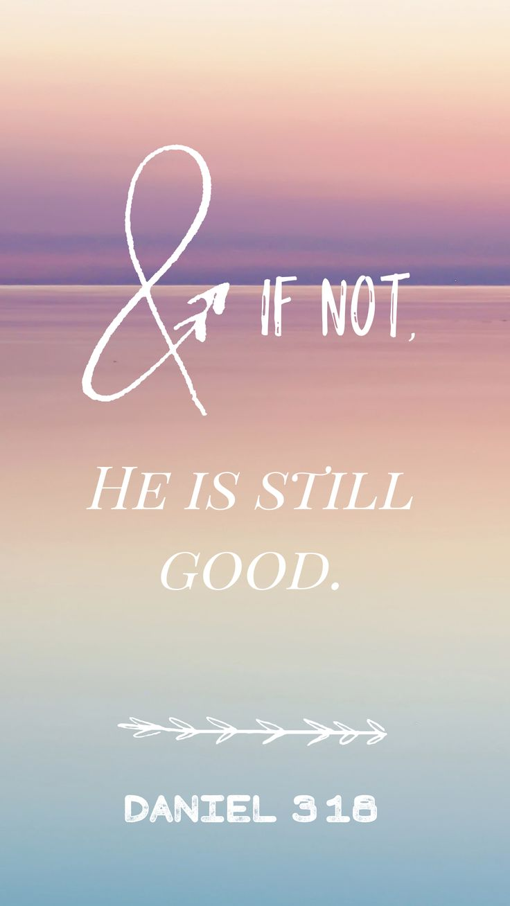 Phone wallpaper-Daniel 3:18