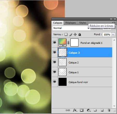 Tuto photoshop : effet ronds lumineux ou (faux) bokeh                                                                                                                                                                                 Plus