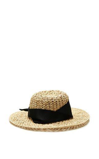 Hippie straw hat by SENSI STUDIO Now Available on Moda Operandi