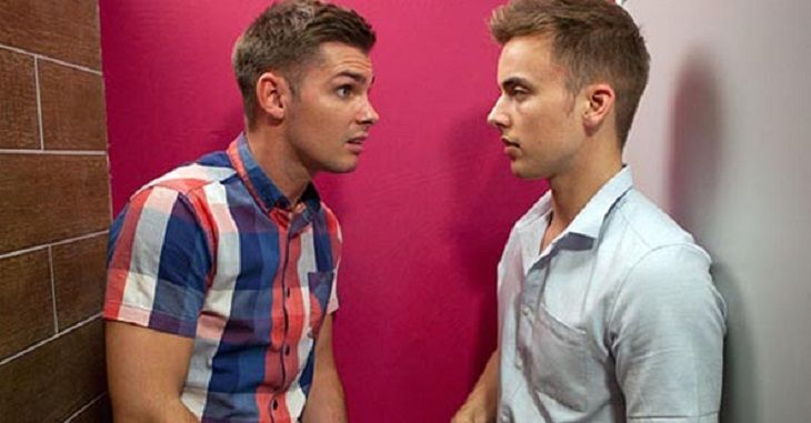 Hollyoaks spoilers tease that the good news for Ste Hay (Kieron Richardson) and Harry Thompson (Daniel Seymour)  is that a wedding is in the works. The bad news? One of them needs to get sprung from prison before it can happen!      Harry may be jumping the gun with his plans for holy matrimon
