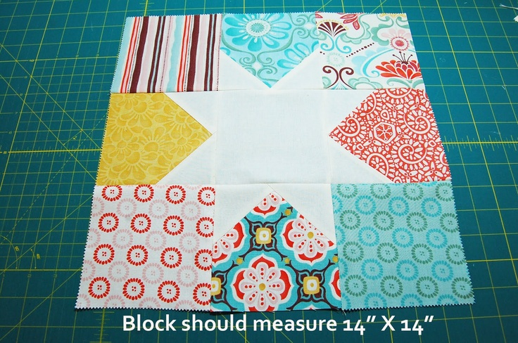 Tutorial on how to make star quilt out of charm packs