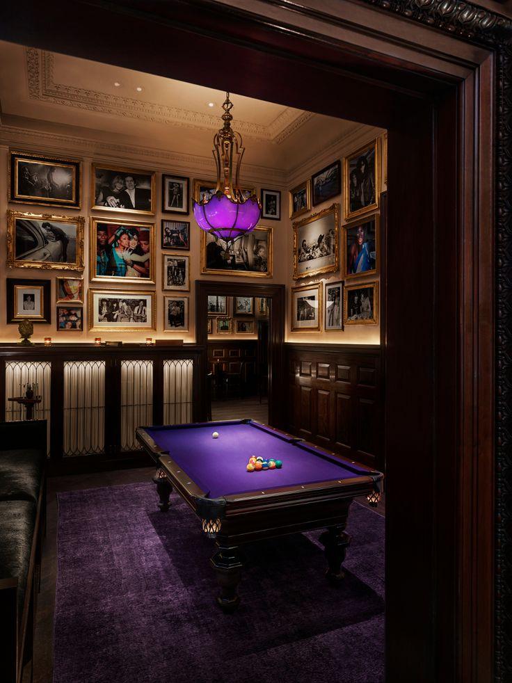 Billiard room purple Edition