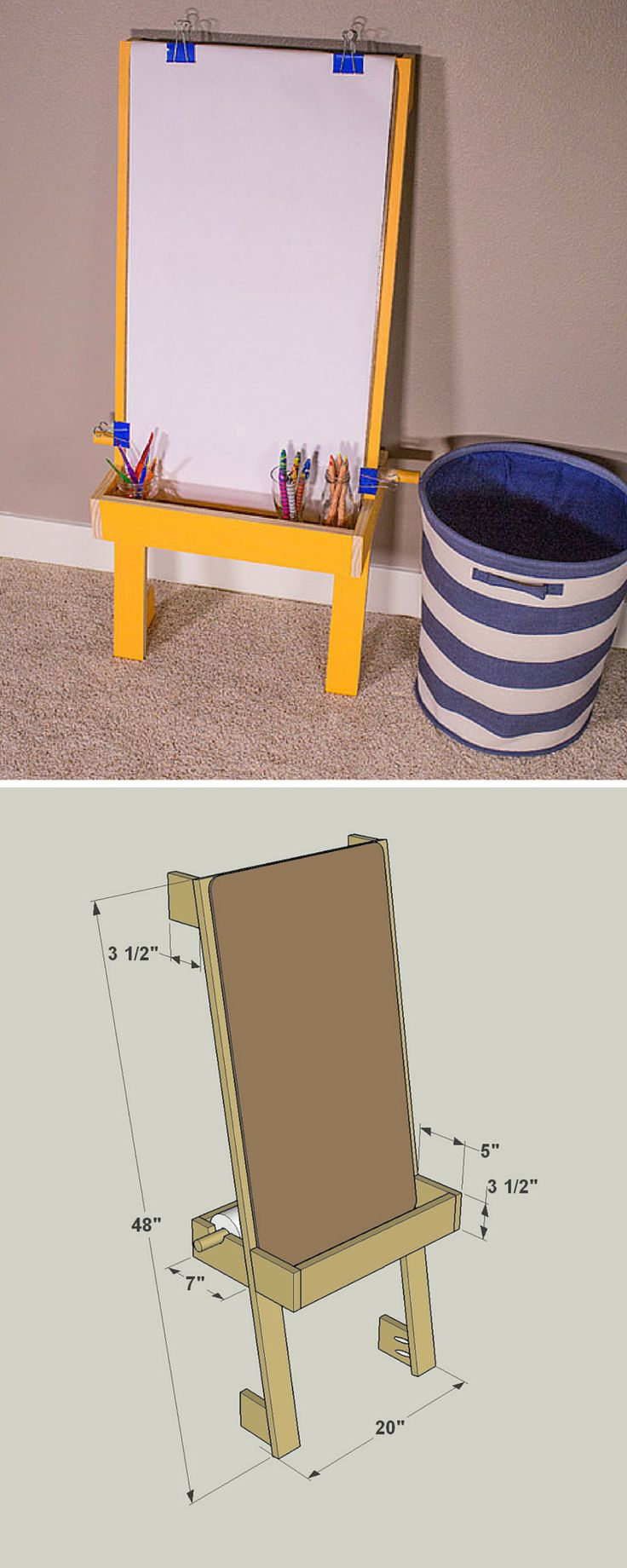 25 Best Ideas About Art Easel On Pinterest Painting