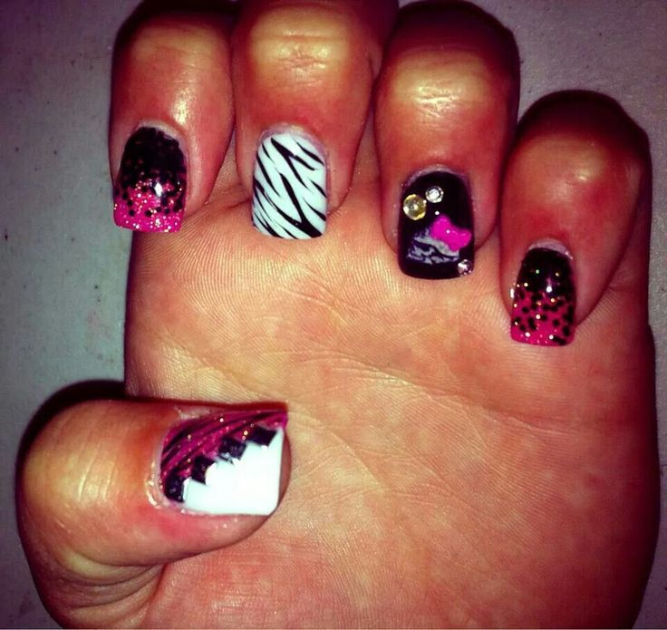 25 best Nails images on Pinterest | Metal mulisha, Cute nails and ...
