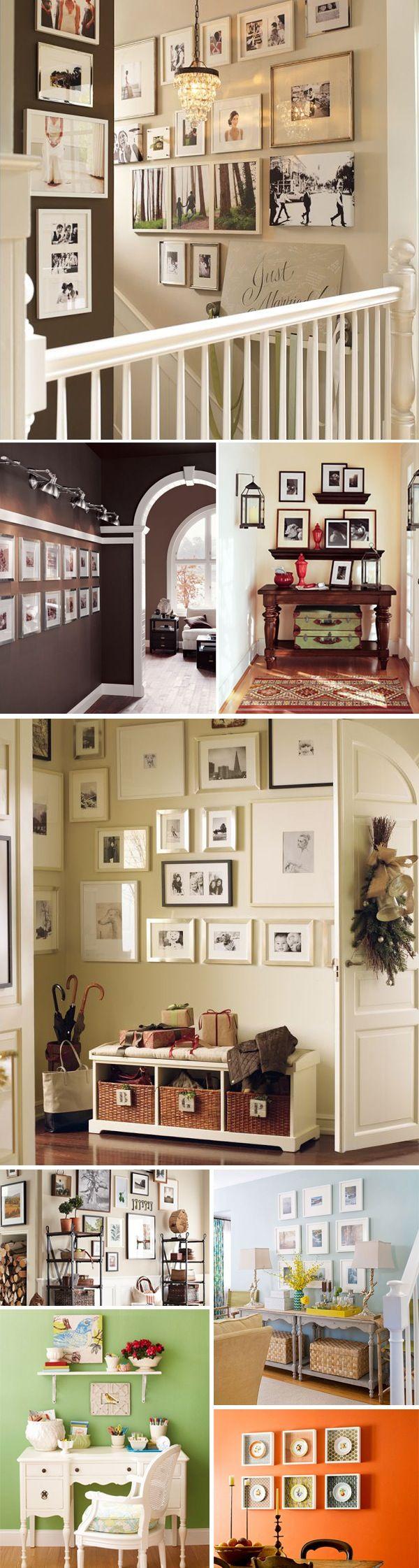 Amo, AMo, AMo milhares de quadros em uma parede, Rafa, deixa eu fazer na nossa parede? quando ela existir?