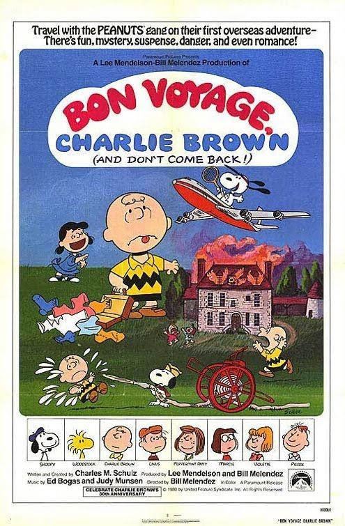 BON VOYAGE CHARLIE BROWN (AND DON'T COME BACK!)