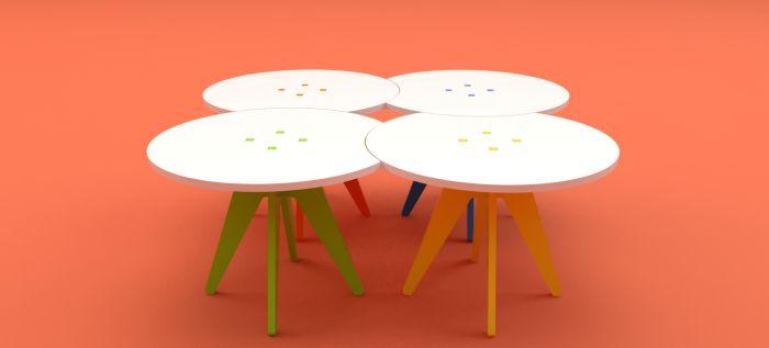 Jogo | School Furniture by Mauricio Tamayo Ibarra at Coroflot.com