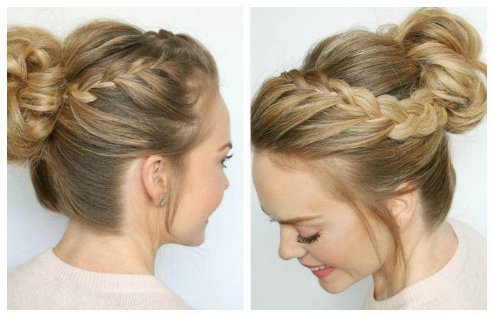 Плетение кос: идеи причесок 24
