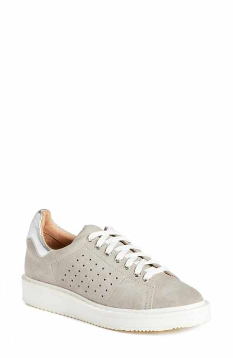 c0fe4985fb0 Halogen® Mills Leather Sneaker (Women)