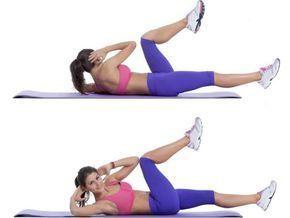 abdominal bicicleta é um dos melhores exercícios para perder barriga rápido