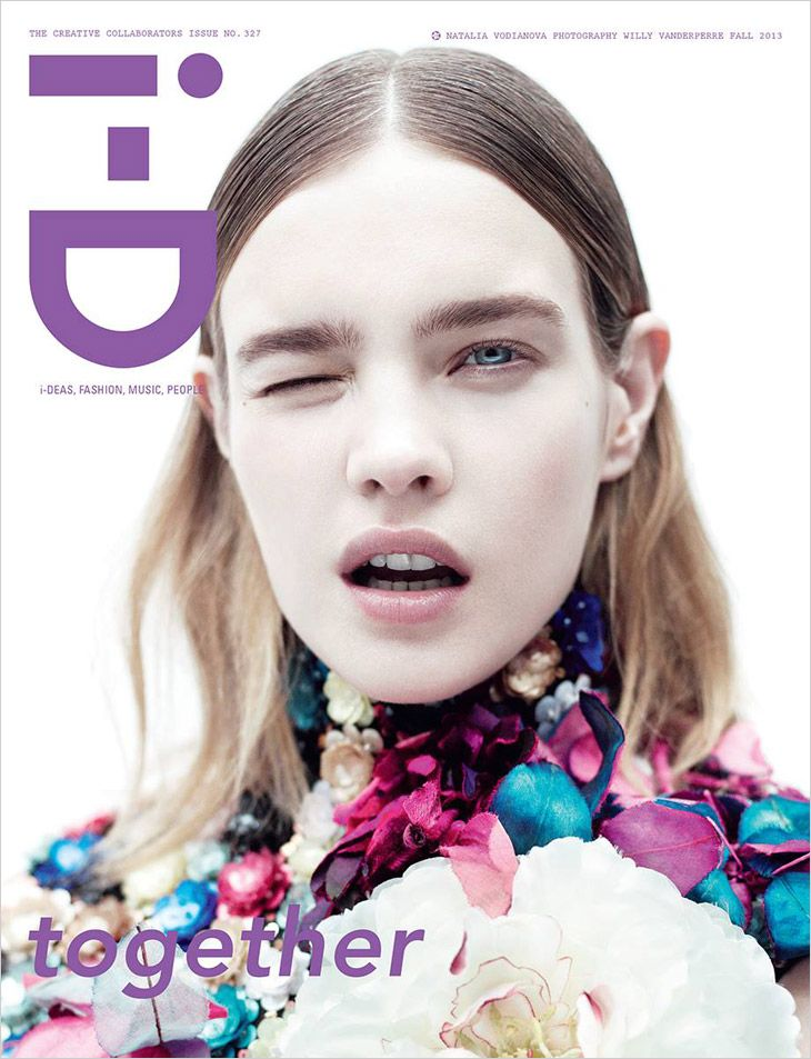 Natalia Vodianova for i-D fall 2013