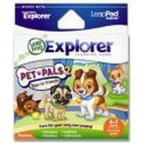 Explore emotions and responsibility as you adopt and take care of your very own puppy! Works with the Leapster Explorer and LeapPad Explorer systems.