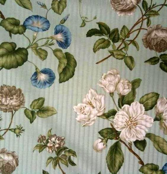 Image Detail For Curtis Garden Mist Floral Waverly Fabric