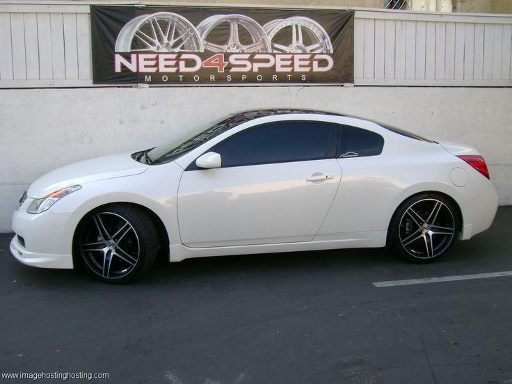 2012 Nissan Altima Coupe Nismo Exhaust