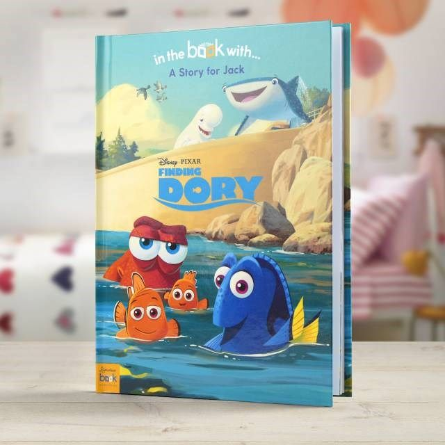 Personalised Children's Book - Finding Dory | GettingPersonal.co.uk