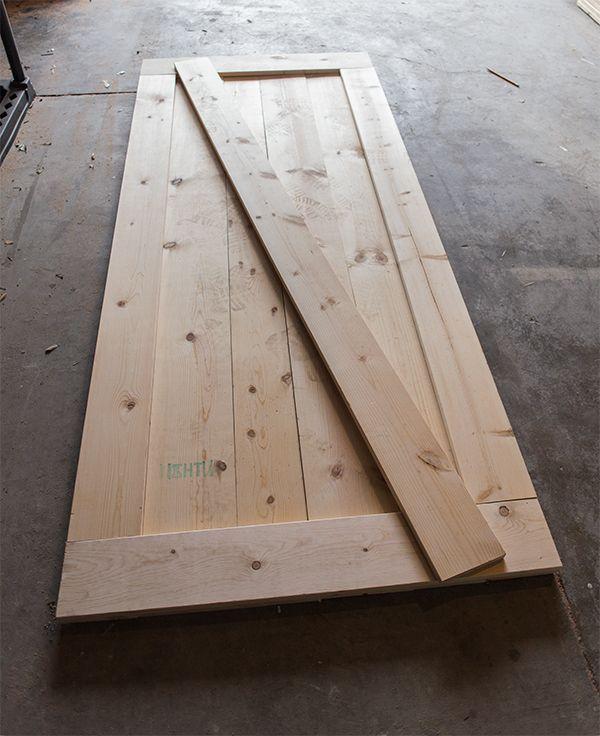 Building Sliding Barn Door Diy: DIY Barn Door Plans & Tutorial