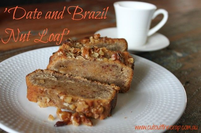 Date and Brazil Nut Loaf