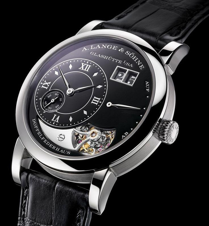 A. Lange & Sohne Lange 1 Tourbillon Handwerkskunst Anniversary Watch ... $200K+