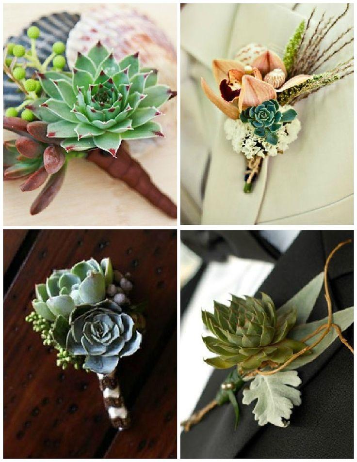 Succulents – Key Wedding Trends 2013