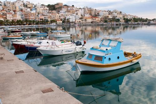 Crete Photos at Frommer's - Waterfront of Sitia. Crete, Greece.