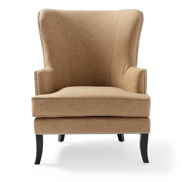 Jordan Fabric Wing Chair
