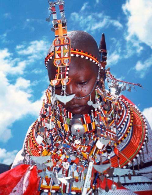 masai bridal gear