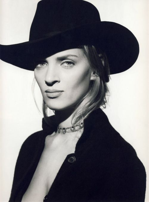 Uma Thurman, originally gorgeous, kick ass in Kill Bill and survived being marri…