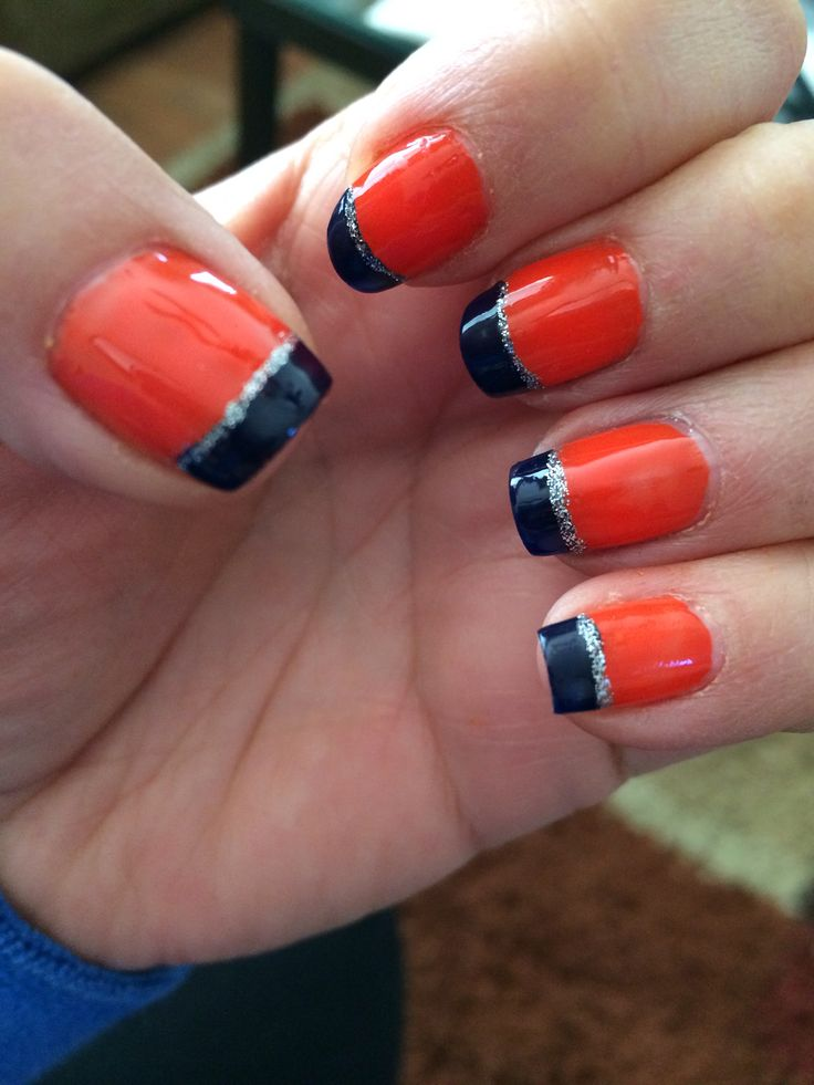 19 best Broncos nails images on Pinterest | Broncos nails, Super ...