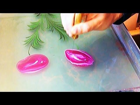 Come dipingere sull'acqua come sulla carta. - YouTube