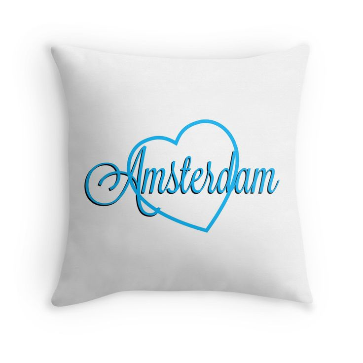 Nice pads designed by Brigitte B. Would you buy this pillow? Look here: https://www.redbubble.com/people/bbrigitte/works/23538833-amsterdam?p=throw-pillow&ref=artist_shop_grid