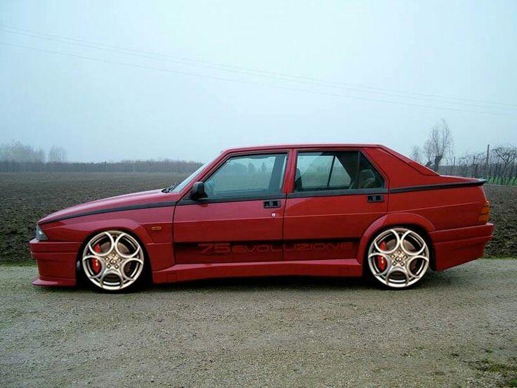 Alfa Romeo 75 #alfa #alfaromeo #italiandesign