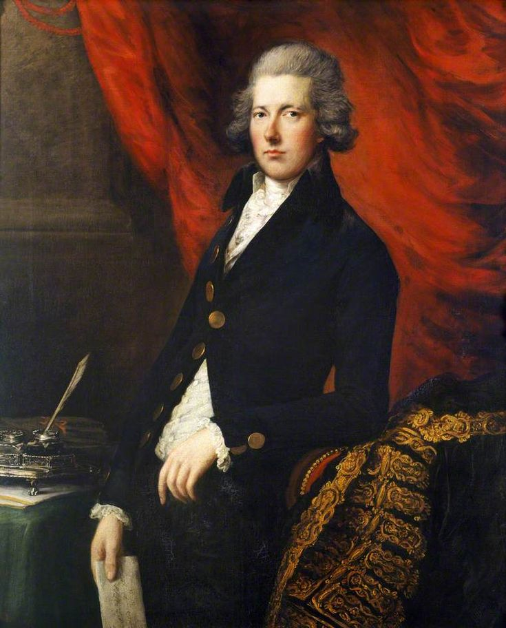 The Right Honourable William Pitt the Younger (1759–1806) Thomas Gainsborough (1727–1788) and Gainsborough Dupont (1754–1797) English Heritage, Kenwood c.1787–1790 oil on canvas 127 x 101.6 cm
