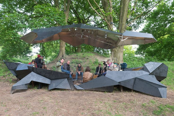 Stealth Pavilion by Paul Seger