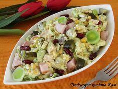 W piątkowe przedpołudnie zapraszam na pyszną sałatkę z kurczakiem i warzywami. Sałatka jest szybka i łatwa do przygotowania. Może być doskon...
