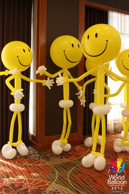 Need a happy smiley face to cheer you up today? Here are a bunch! Get ready for lots of balloons and lots of smiles at the World Balloon Convention!