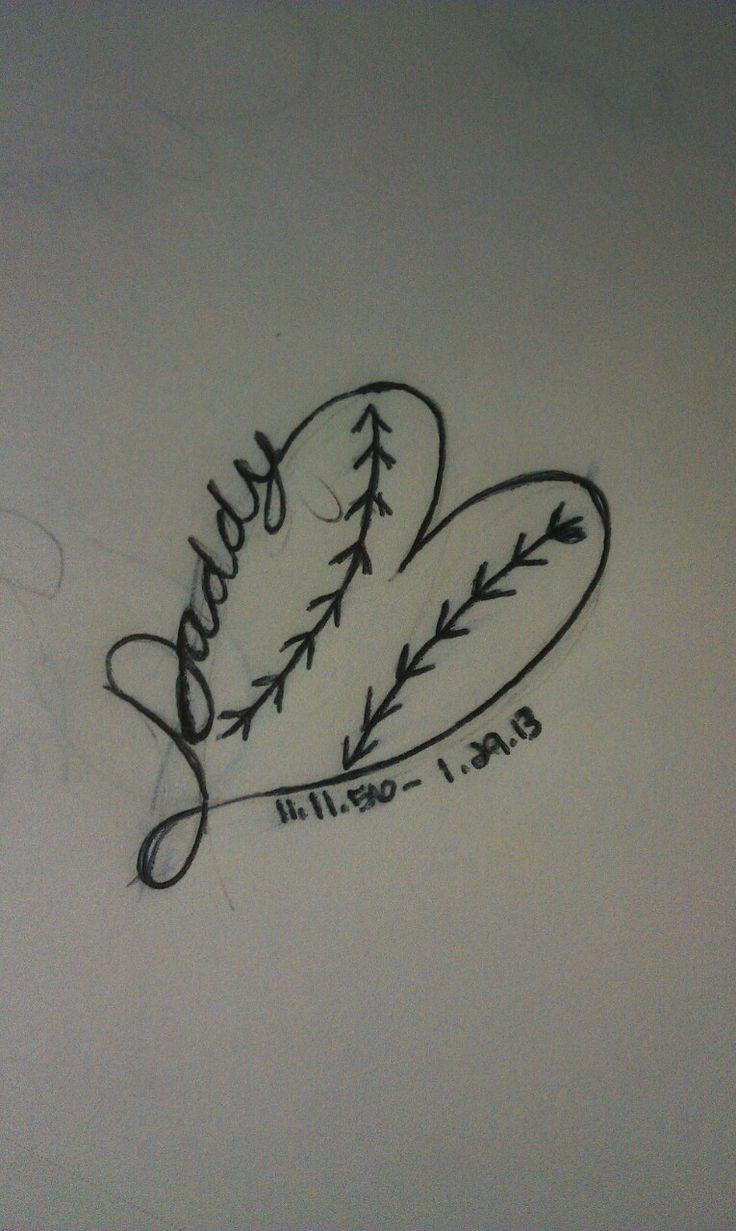 The tattoo my sister and I are getting in remembrance of our daddy. He loved us girls (including my mom) and softball... He was a wonderful man.