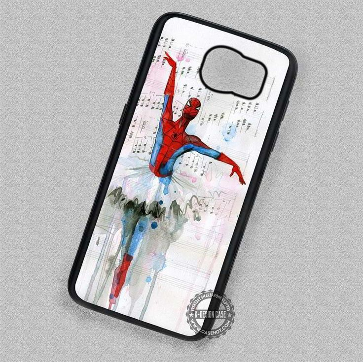Spiderman Ballet Marvel - Samsung Galaxy S7 S6 S5 Note 7 Cases & Covers