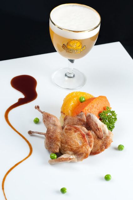 Wino i kuchnia: Przepiórka z pomarańczami i musem z marchwi